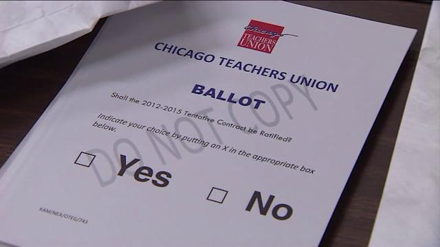 Chicago Teachers Union holds elections