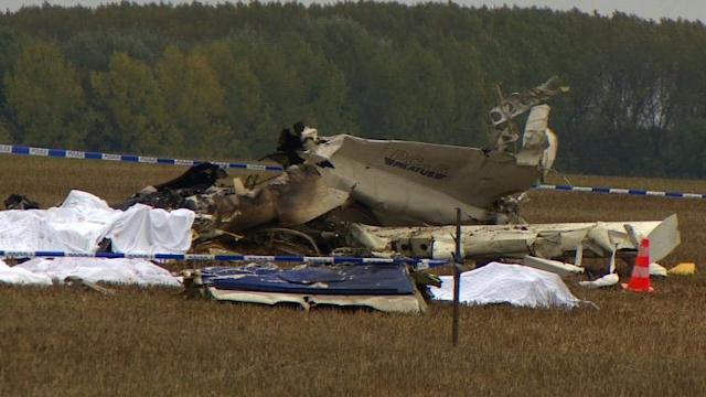 Belgium investigates plane crash that killed skydivers