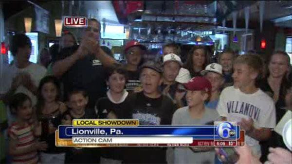 Chester Co. cheers on Lionville Little Leaguers