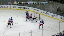 Chris Kreider beats Emery on his backhand