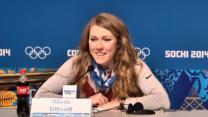 Shiffrin Talks About Slalom Gold, and Mascara