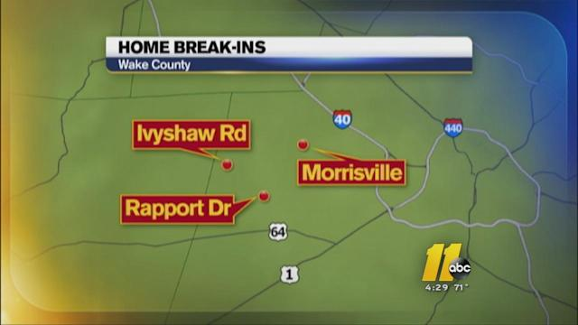 Thieves targeting gold in Cary robberies