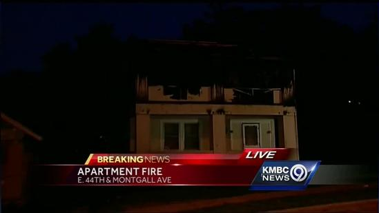 Neighbors: Person jumps to escape apartment fire
