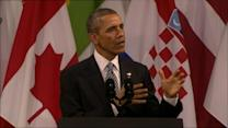 Obama Addresses Russian Threat: Borders Cannot Be Redrawn by Force