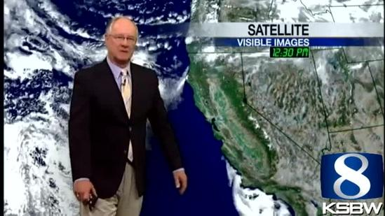 Watch Your KSBW Weather Forecast 04.29.13
