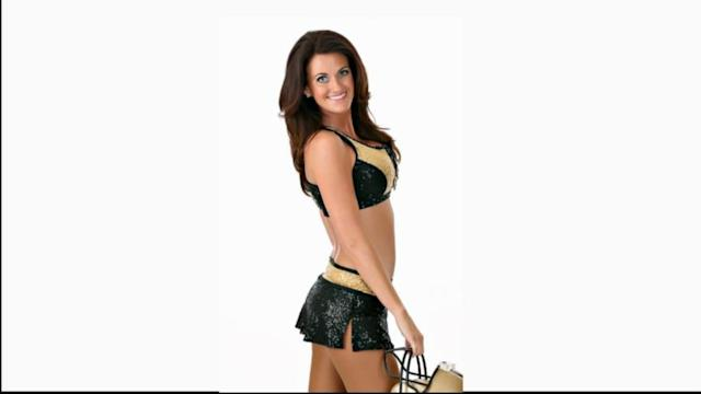 40-Year-Old Woman Becomes Saints Cheerleader