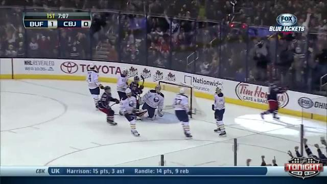 Buffalo Sabres at Columbus Blue Jackets - 01/25/2014
