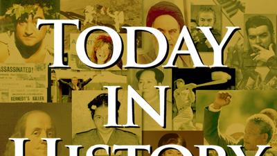 Today in History for April 13th