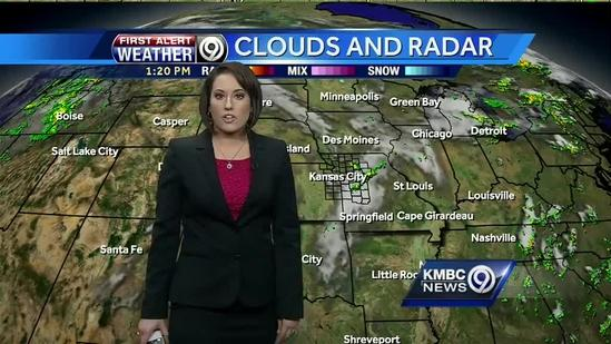 Storms may move into region overnight, Wednesday looks hot