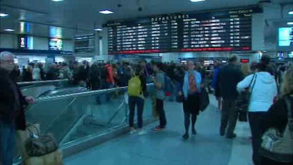Amtrak suspends travel in and out of Boston