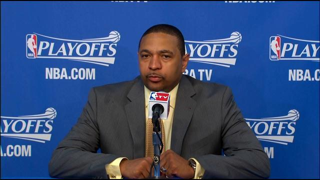 Raw Video: Warriors Coach Mark Jackson On Winning Game 6, Forcing Game 7