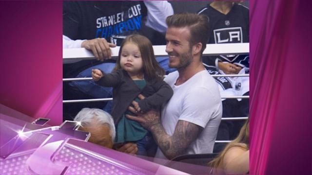 Entertainment News Pop: David Beckham Plans To Locker Daughter Harper In A Tower, Which We Find Adorable