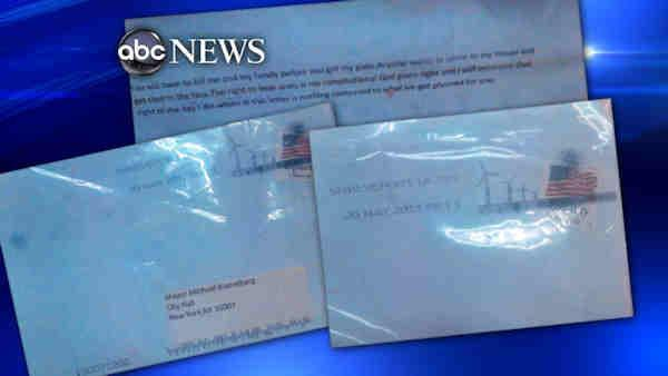 Person of interest questioned in ricin letters