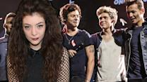 Lorde Is A Directioner! Spotted at 1D Concert in New Zealand