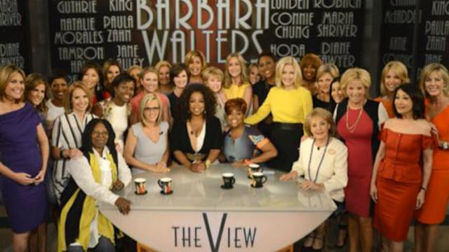 Women Journalists Pay Tribute to Barbara Walters