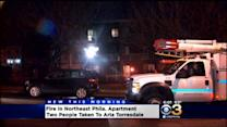 2 Hurt In Northeast Philly Apartment Fire