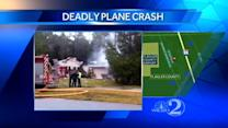 3 dead after small plane crashes into home