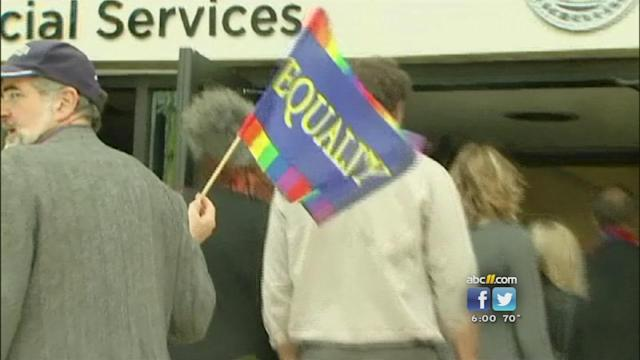 Same-sex marriage applicants test NC county