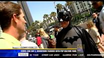 Comic-Con day 2, downtown flooded with pop culture