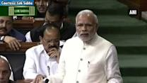 LS debate is about 'us', not 'me' or 'you': PM Modi