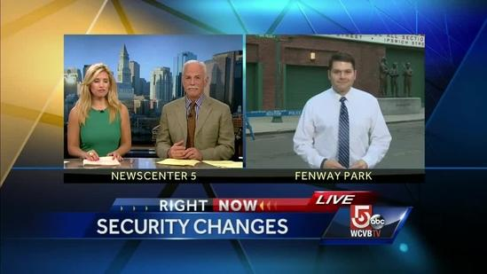 Red Sox stepping up Fenway Security