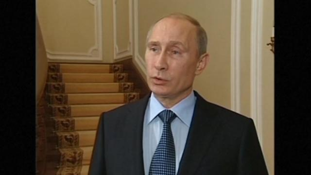Putin says U.S. must reject use of force in Syria