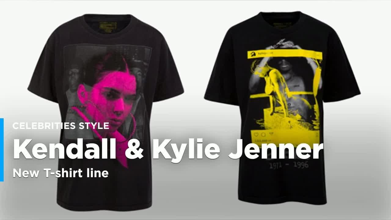3d1411408a609 Kendall + Kylie Slapped Tupac and Biggie on  125 T-Shirts With Their Own  Faces