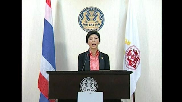 Thai PM dissolves parliament in face of protests