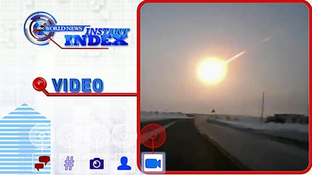 Russian Meteor Shockwave Circled Globe Twice