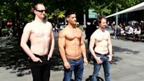 'DadBod' vs Muscles - Dating Experts Social Experiment
