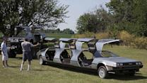 Visiting the wildest collection of DeLoreans in the world