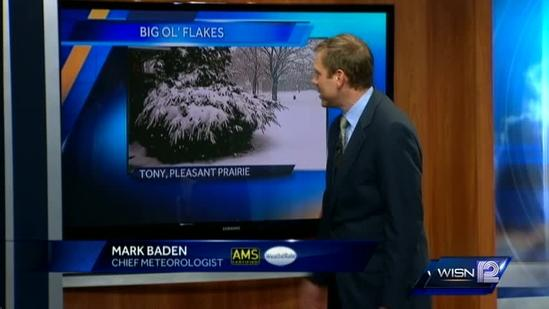Mark Baden's late afternoon forecast