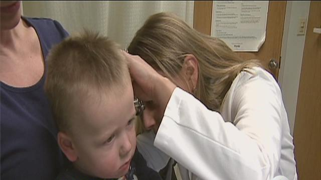 New guidelines for kids' ear infections