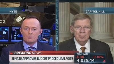 Sen. Isakson: Congress got their act together on budget