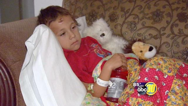 Sanger Family struggles with medical bills after 5-year-old hit by car