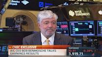 AIG's Benmosche: Economy strong but lacks confidence