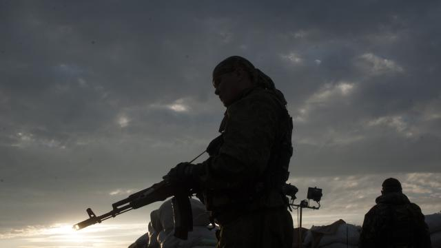 Ukraine Forces Fight Fierce Battle With Eastern Separatists