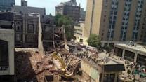 Pa. Building Collapses, Two Victims Trapped