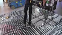Awesome Interactive LED Floor