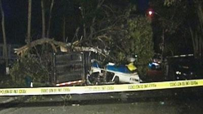 Small plane crashes on Long Island; 2 dead