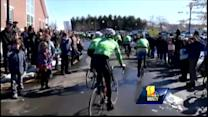 Sandy Hook cyclists stop in Baltimore enroute to DC