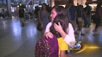 Columbian orphans arrive in Chicago hoping for adoption
