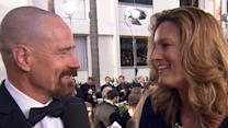 Golden Globes 2013: Bryan Cranston Makes Out On The Red Carpet!