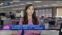 South Korean cosmetics makers shine