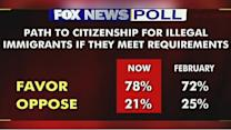 Fox News Poll: Path to citizenship for illegal immigrants