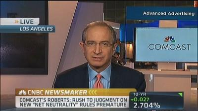 Comcast's Roberts: Rush to judgment on net neutrality