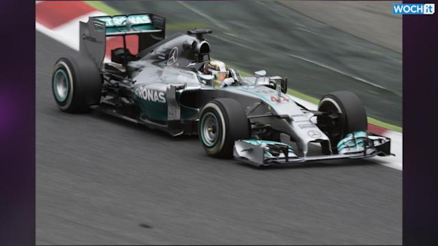 Hamilton Wins 4th Straight Race At Spanish GP