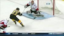 Carl Soderberg finds Bergeron for the score