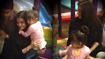 Spotted: Aishwarya and Aaradhya's play time