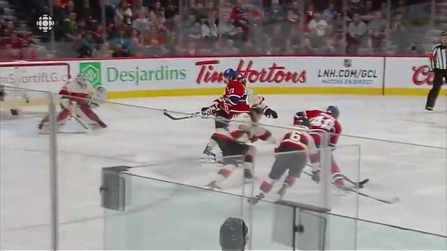 Briere strikes on Lehner 38 seconds in
